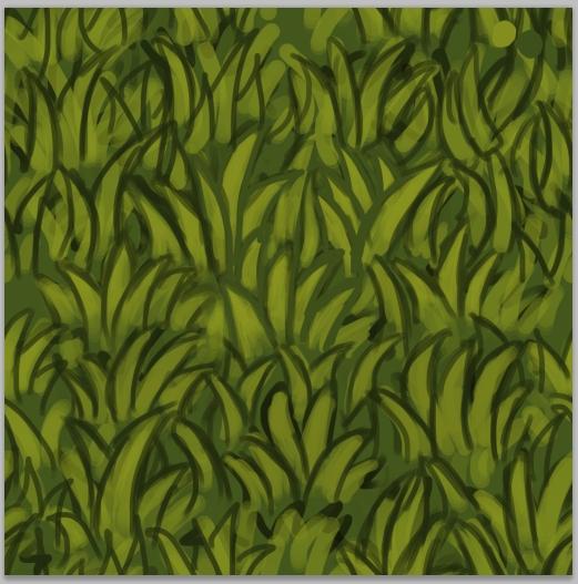 бесшовная текстура травы: