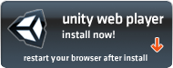 Unity Web Player installed, please restart your browser.